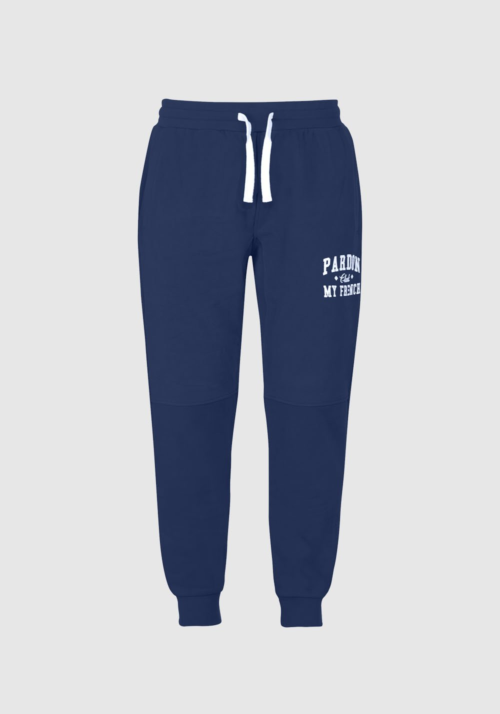 MY FRENCH CLUB FORGIVENESS TROUSERS NAVY BLUE